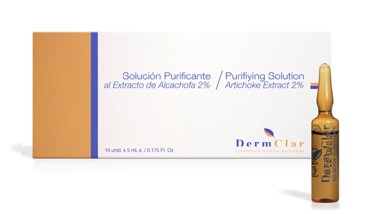 Dermclar Purifiyng Solution - Ekstrakt z karczocha 5 ml-0