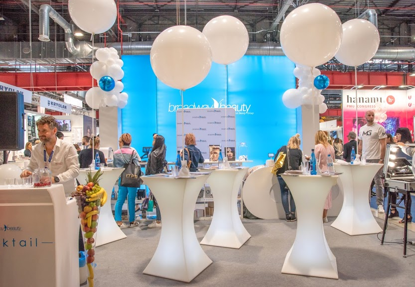 Targi Beauty Forum 2019 - nowe stoisko Broadway Beauty
