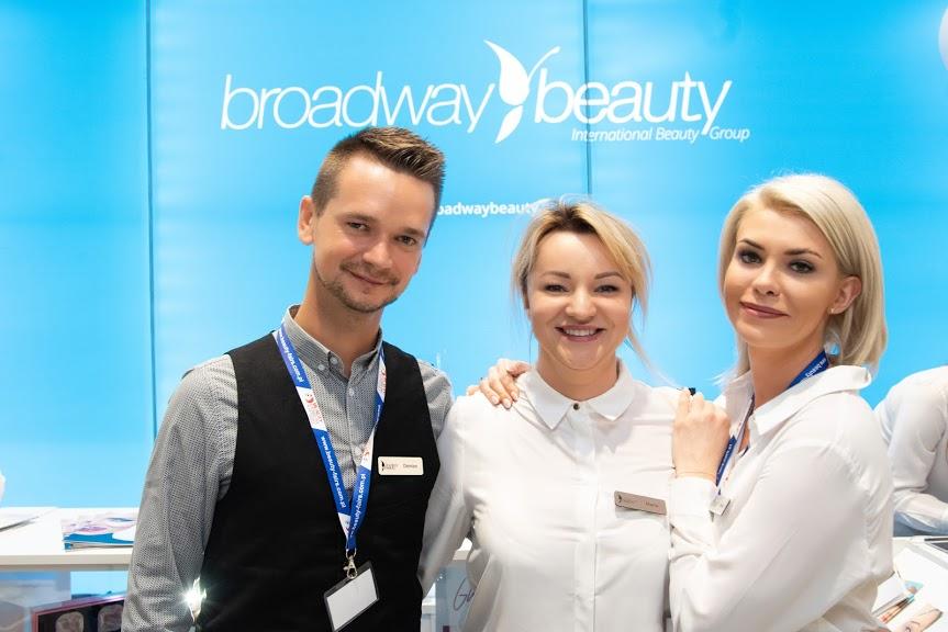 Zespół Broadway Beauty zawsze zwarty i gotowy