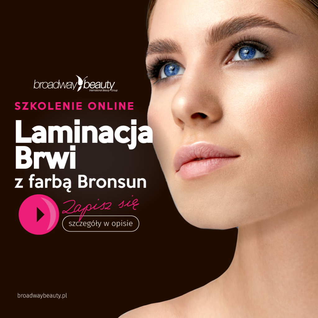 Laminacja brwi - szkolenie internetowe