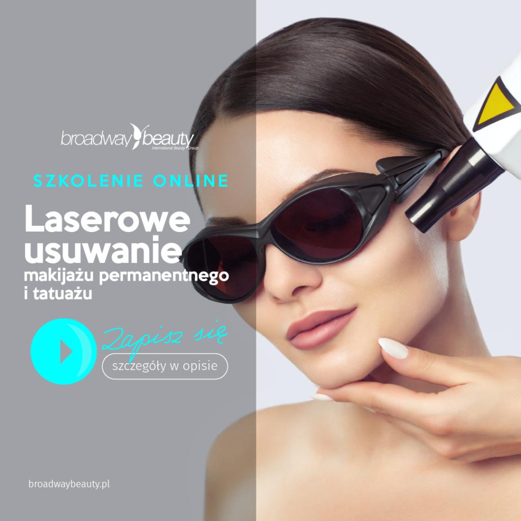 Laserowe usuwanie makijażu permanentnego i tatuażu - szkolenie internetowe