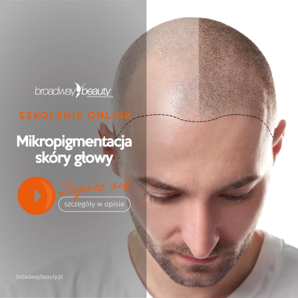 Mikropigmentacja skóry głowy - szkolenie internetowe