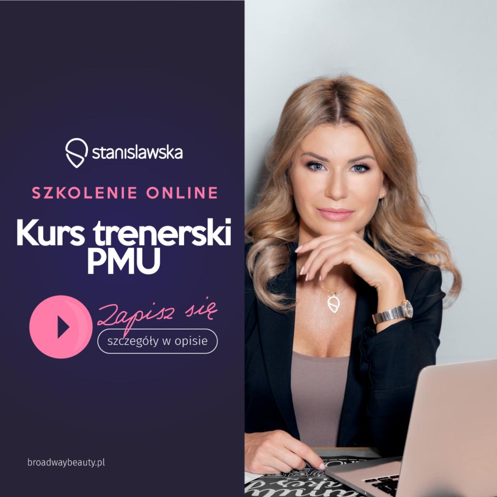 Kurs Trener Makijażu permanentnego online